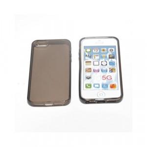 Custodia per Apple Iphone 5 Nero Trasparente