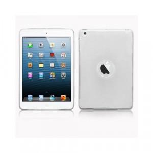 Custodia in silicone semi-rigido Ipad Mini Bianco trasparente