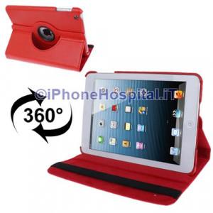 Custodia magnetica  iPad mini rosso interno nero