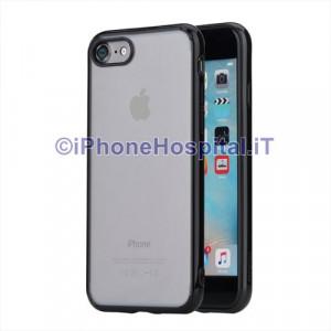 """Custodia Nero Trasparente per Apple iPhone 7 4,7"""""""