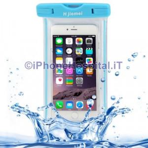 Custodia Protettiva Impermeabile per iPhone 6 Plus iPhone 6  5  5S 5C Blue