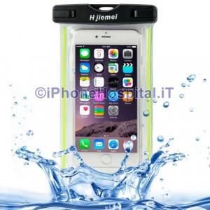 Custodia Protettiva Impermeabile per iPhone 6 Plus iPhone 6  5  5S 5C Verde