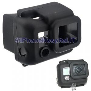 Custodia protettiva in silicone per GoPro Hero 3 B (nero)
