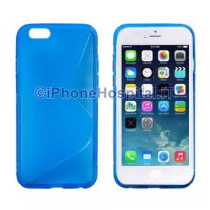 "Custodia Protettiva in TPU Colore Blue Trasparente per iPhone 6 4,7 """