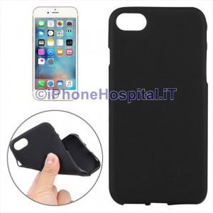 """Custodia Protettiva in TPU Colore Nero Trasparente per iPhone 7 4,7"""""""