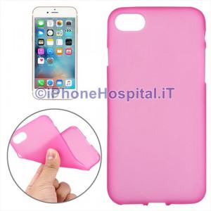 """Custodia Protettiva in TPU Colore Rosa Trasparente per iPhone 7 4,7"""""""