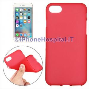 """Custodia Protettiva in TPU Colore Rossa Trasparente per iPhone 7 4,7"""""""