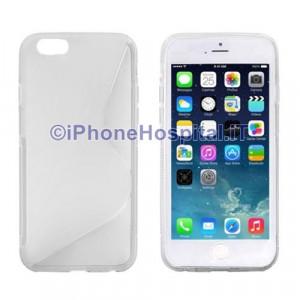 """Custodia Protettiva in TPU Colore Trasparente per iPhone 6 4,7 """""""
