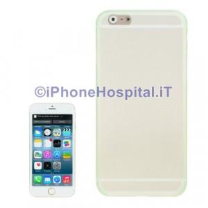 "Custodia Protettiva in TPU Colore Verde Trasparente per iPhone 6 4,7 """