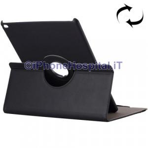 Custodia Rotazione 360 Gradi per iPad Pro 12.9 colore Nero