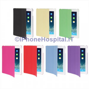 Custodia Front & Retro super sottile a libro Soft Gel Morbida Ipad2