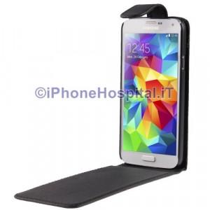 Custodia Verticale per Samsung Galaxy S5 / G900 colore Nero
