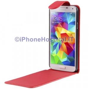 Custodia Verticale per Samsung Galaxy S5 / G900 colore Rosso