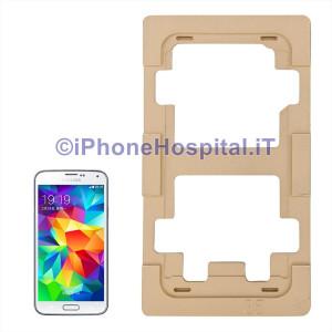 Dima di precisione in Allumino per la Riparazione di Vetri Touch Lcd per Samsung Galaxy S5