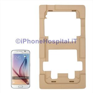 Dima di precisione in Allumino per la Riparazione di Vetri Touch Lcd  per Samsung Galaxy S6