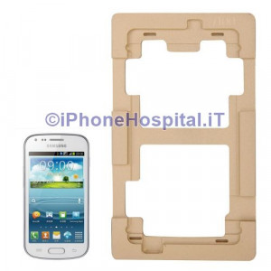 Dima Precisione Allumino per Riparazione Vetri Touch Lcd Samsung Galaxy Note II