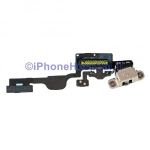 Flat Accensione Pulsante Microfono Supporto per Apple Whatch 38mm A1802 - A1553