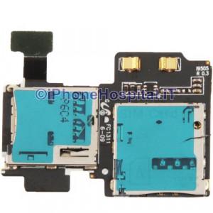 Flat Lettore Scheda Sim Card e Sd Card per Samsung Galaxy I9500