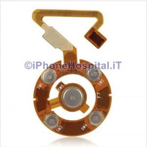 Flex ClickWheel Nero iPod Nano 5 Generazione A1320