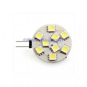 G4 2,5 W 9x5050 SMD 90-100lm bianco naturale lampadina spot di luce led (12v)