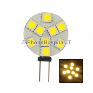 G4 1.3W SMD 100lm caldo lampadina LED bianco (12v)
