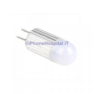 G4 1,5 W 1- lampadina LED luce bianca calda (12V dc)