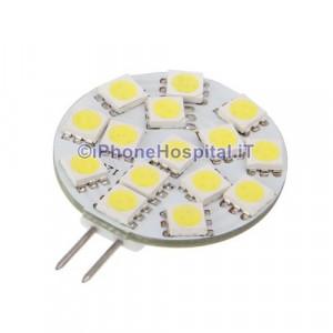 G4 3,0 W 15x5050 SMD 240 lm bianco Naturale lampadina spot di luce led (12v)