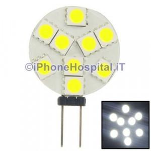 G4 SMD 1.3W 100lm lampadina LED a luce bianca naturale