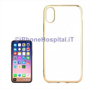 Custodia Protettiva in TPU per iPhone XS Max Oro (Gold)