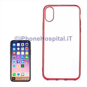 Custodia Protettiva in TPU per iPhone X / XS Rosso