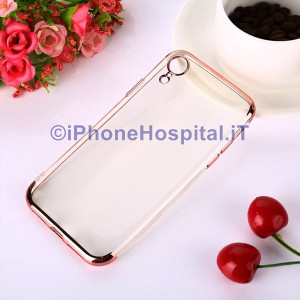 Custodia Protettiva in TPU per iPhone XR (Rosa Gold)