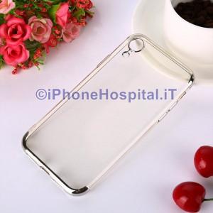 Custodia Protettiva in TPU per iPhone XR (Silver)