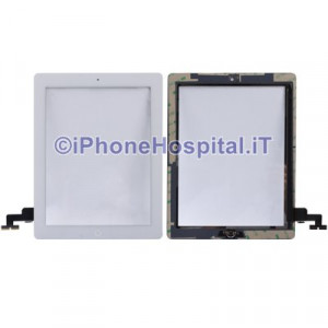 iPad 2 Touch Screen Bianco Assemblato Alta Qualita'