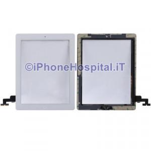 iPad 2 Touch Screen Bianco Assemblato Alta Qualita'