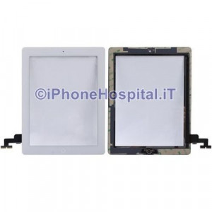 iPad 2 Touch Screen Bianco Assemblato Grado A