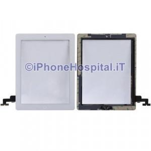 iPad 2 Touch Screen Bianco Assemblato Grado A