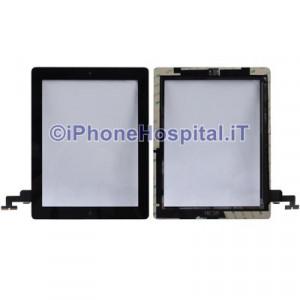 iPad 2 Touch Screen Nero Assemblato Alta Qualita'
