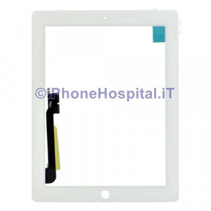 iPad 4 Touch Screen Bianco