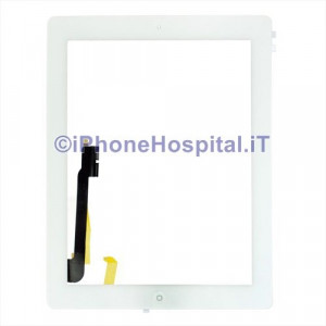 iPad 4 Touch Screen Bianco Assemblato Grado A