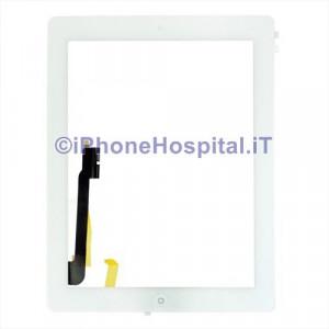 iPad 4 Touch Screen Bianco Assemblato Grado A