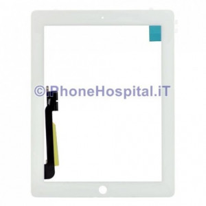 iPad 4 Touch Screen Bianco Grado A