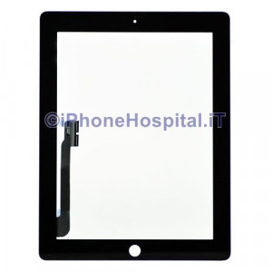 iPad 4 Touch Screen Nero