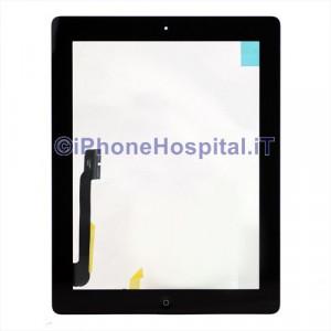 iPad 4 Touch Screen Nero Assemblato