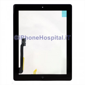 iPad 4 Touch Screen Nero Assemblato Grado A