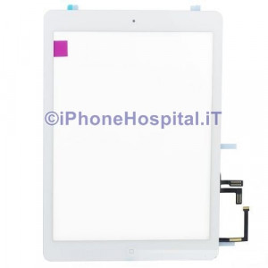 iPad 5 Air Touch Screen Bianco Assemblato