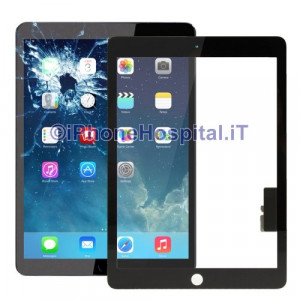 iPad Air Touch Screen Nero Alta Qualita'