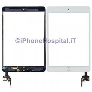 iPad Mini 3 Touch Screen Bianco Assemblato Tasto Home Bianco Bordo Oro