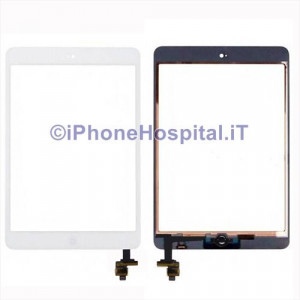Touch Screen Bianco per Apple iPad Mini Assemblato