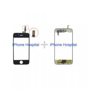 iPhone 3GS Sostituzione Middle+Vetro con touch