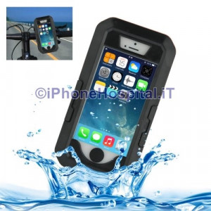 Custodia con Supporto Bicicletta in ABS Impermeabile per iPhone 5/5S /SE